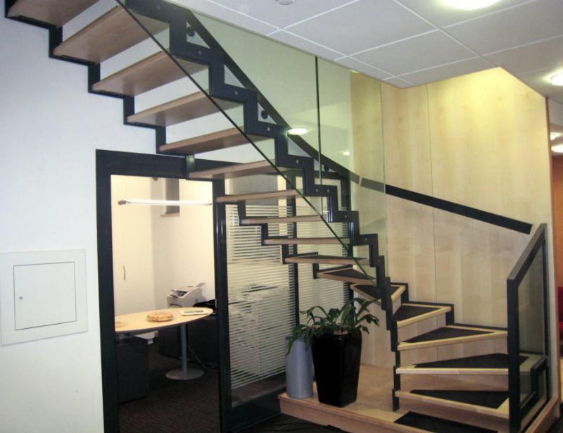 escalier double limon schaffner. Black Bedroom Furniture Sets. Home Design Ideas