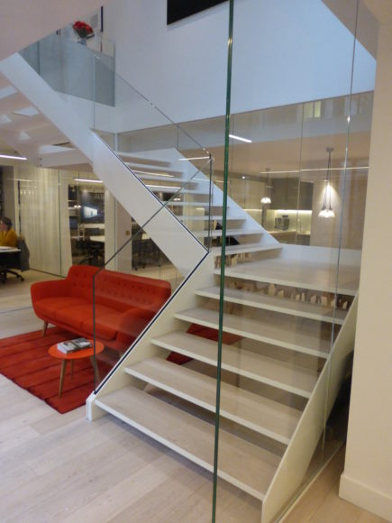 Double Sided Staircase Schaffner