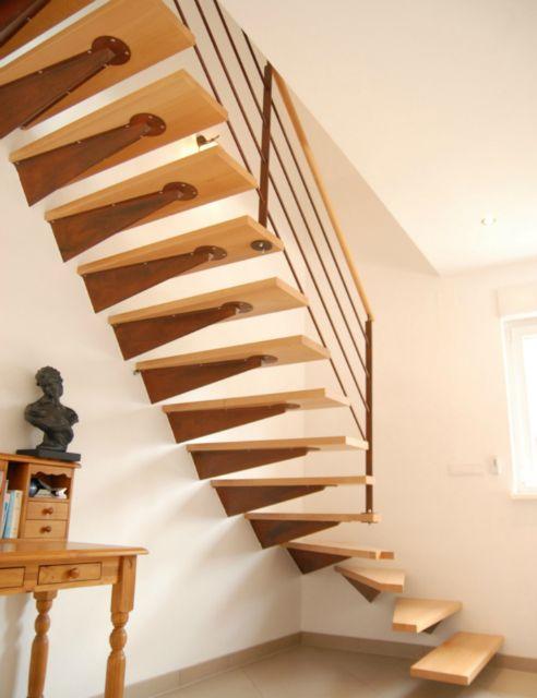 escalier console murale schaffner. Black Bedroom Furniture Sets. Home Design Ideas