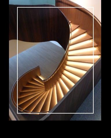 Book photos de l'entreprise Schaffner regroupant des exemples d'ouvrages d'escaliers à doubles limons